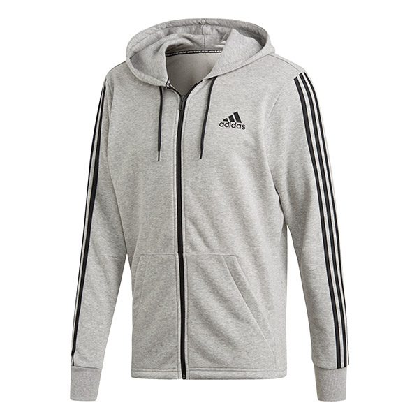 adidas Three Stripes Full Zip Hoodie (M)