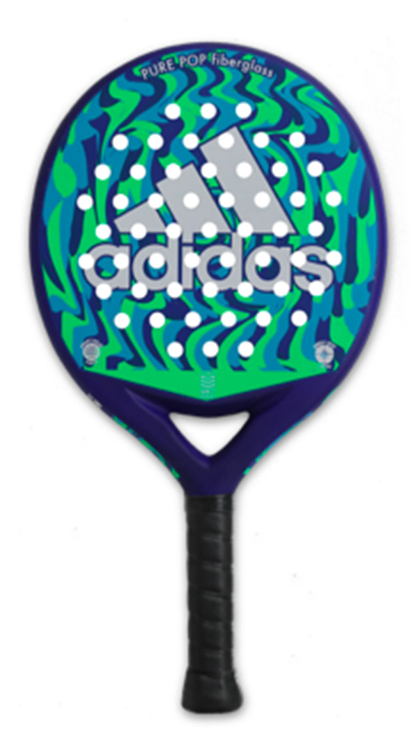 Adidas Pure Pop Fiberglass Paddle (No Cover)