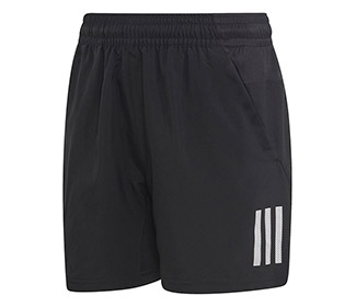 adidas Boys Club 3 Stripe Short