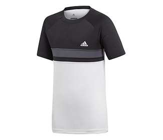 adidas Boys Club Color Block Tee