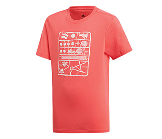 adidas Boys Graphic Tee