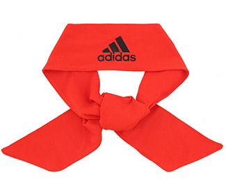 adidas Alphaskin Tie Headband (Red)