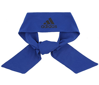 adidas Alphaskin Tie Headband (Royal)