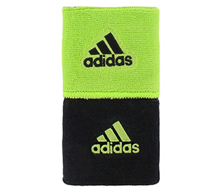 adidas Interval Reversible Wristband-Small