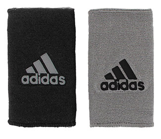 adidas Interval Reversible Wristband-Large