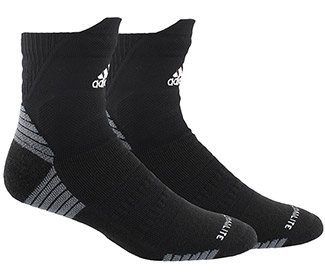 adidas Alphaskin Cushioned High Quarter (M)
