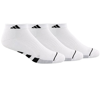 adidas Men's Cushioned Low Cut 3 Pack (M)